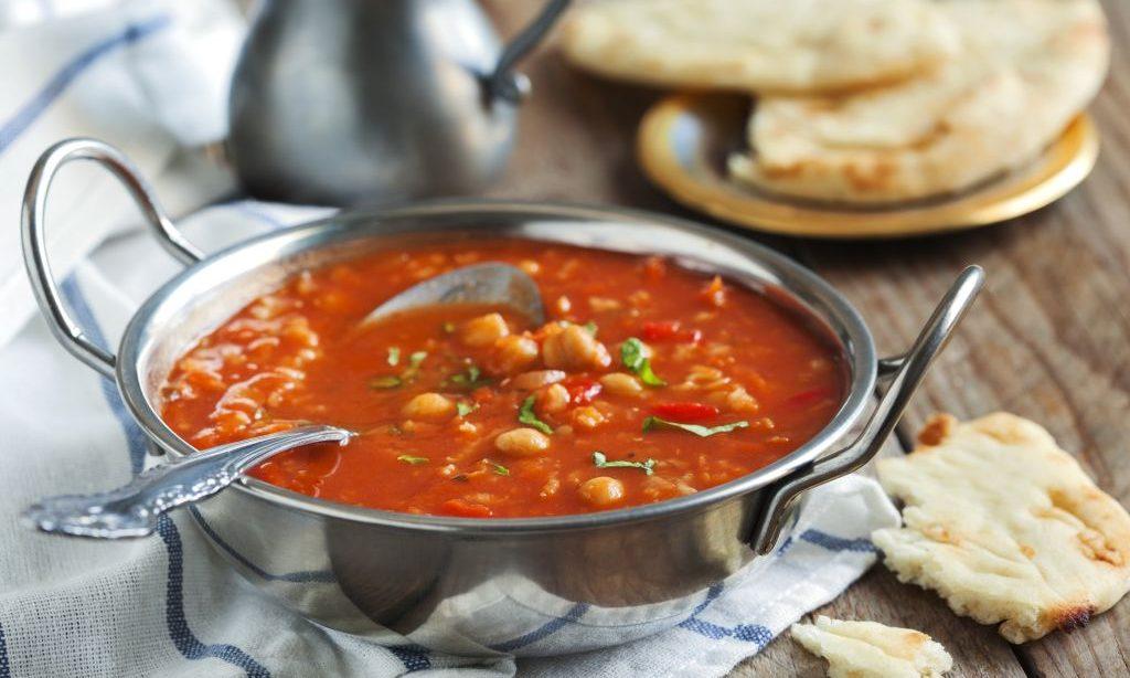 Marocká cícerová polievka