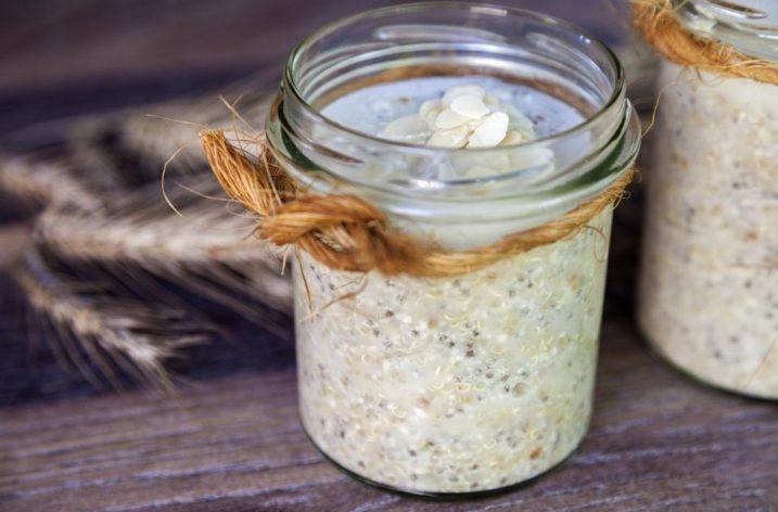 Quinoa s mandľami