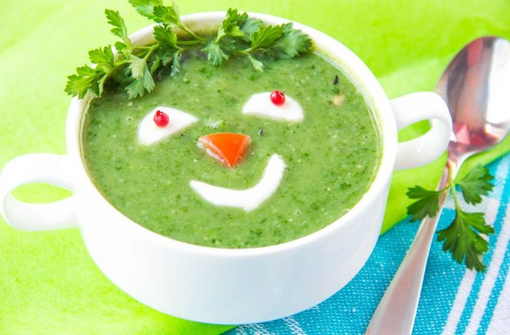 Špenátová polievka