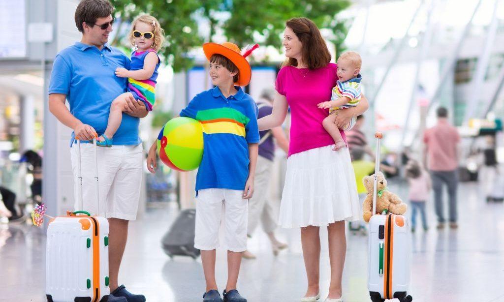Minimalistické cestovanie s deťmi
