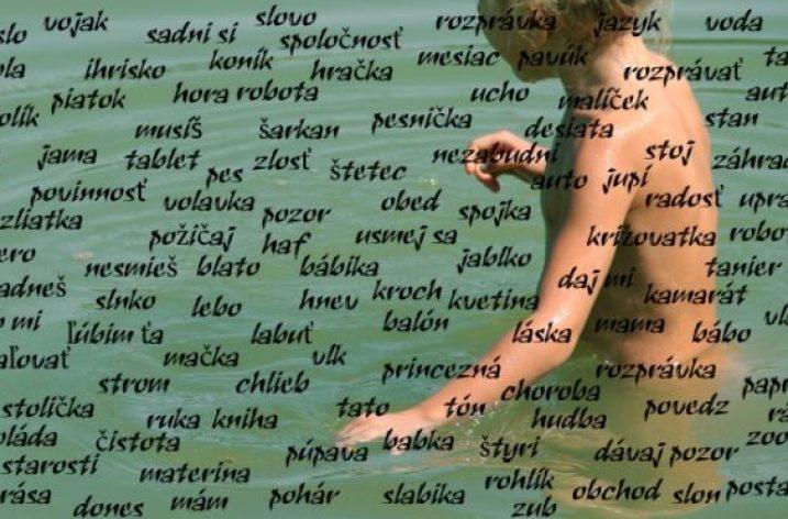 Slová sú more. Neutopme v ňom naše deti
