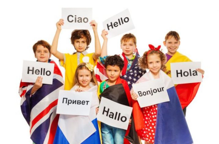 Cudzí jazyk je pre deti zábava