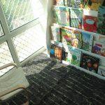 Domškôlkari – čitateľský kútik