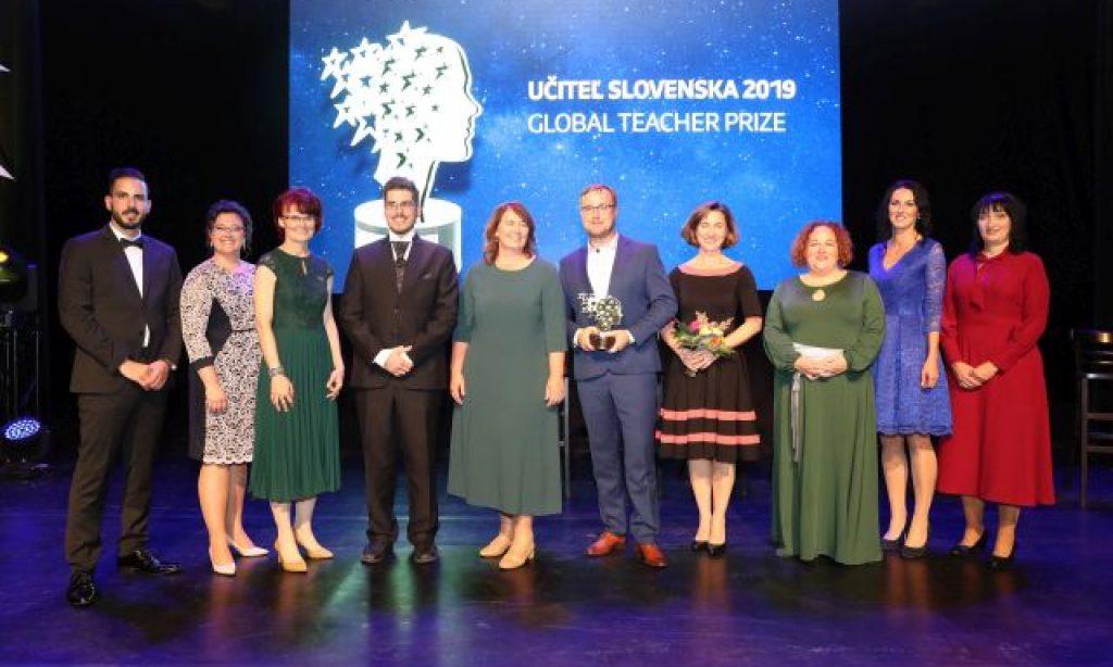 Učiteľom Slovenska 2019 sa stal Peter Pallo z Trstenej