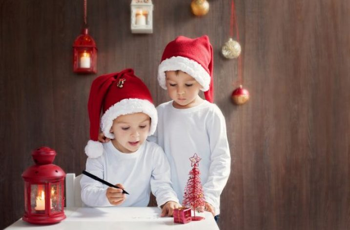 Vianoce, darčeky a šťastné deti