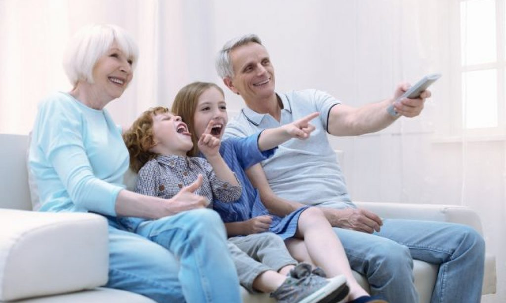 Starí rodičia a vnúčatá