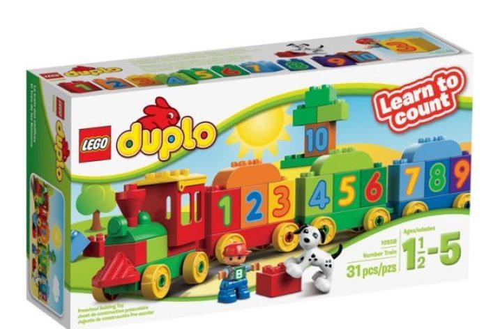 Súťaž o Vláčik s číslami LEGO duplo
